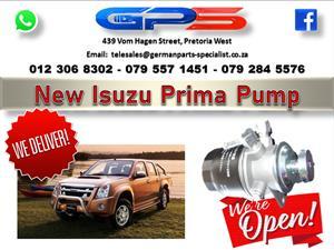 New Isuzu Prima Pump for Sale