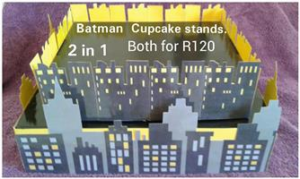Batman cupcake stands for sale