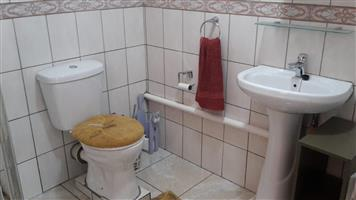 Fully furnished garden flat for rent; R4,800.00 (water and lights included) in Silverton Ridge, Pretoria.