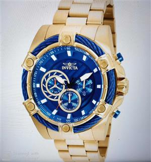 Brand New Genuine Invicta Men's Bolt Quartz Watch Model 25516
