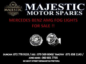 MERCEDES BENZ AMG FOG LIGHTS