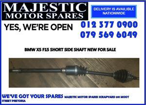 Bmw new x5 short side shaft for sale