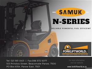 Brand New SAMUK Forklift for Sale!!