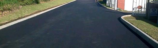 Tar surfacing and Cold Asphalt pre-mix
