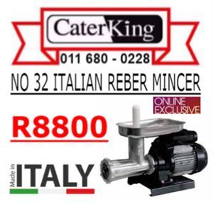 NO 32 MINCER - ITALIAN REBER
