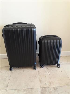 Medoodi Milan 2 Piece luggage set - BLACK