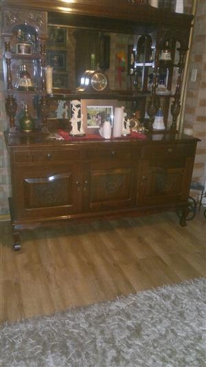 Imbuia wood cabinet