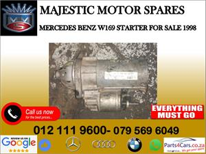 Mercedes benz W169 starter for sale