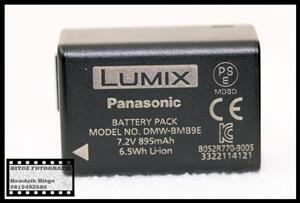 Panasonic Lumix DMW-BMB9E Battery