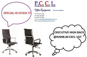 EXECUTIVE OFFICE CHAIR IN STOCK 48 HOUR DELIVERY