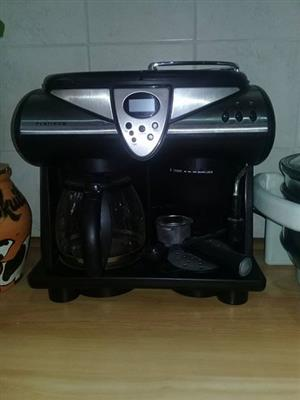 Platinum coffee machine