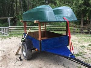 Fishing trailer