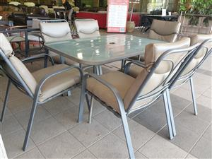 Outdoor Patio Set 6 Seater for sale R 2500