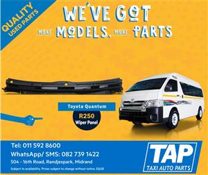 Toyota Quantum Wiper Panel - Taxi Auto Parts quality used spares - TAP
