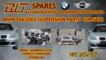 BMW E60 2001  MODEL SUSPENSION  PARTS FOR SALE