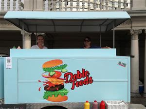 Doble foods trailer