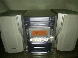 5 Disk Panasonic Hi-Fi