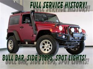 2012 Jeep Wrangler Unlimited 2.8CRD Sahara