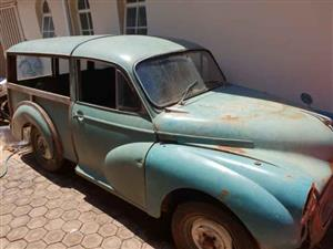Project Cars -  1956 Morris Minor Woody Wagon and Morris Minor 1952 For Sale