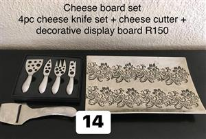 Cheese board set for sale