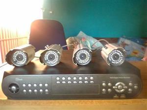 4 IR CCD colour digital cameras