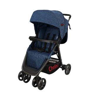 Boston Grey / Blue pram