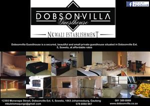 Dobsonvilla Guesthouse