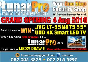 We are open: Security and great prices to win