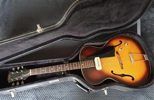 Vintage 1960 Guild X50 Semi-Hollow Electric Guitar - USA Built