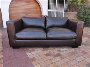 Coricraft Manhattan 2 Seater Leather Sofa