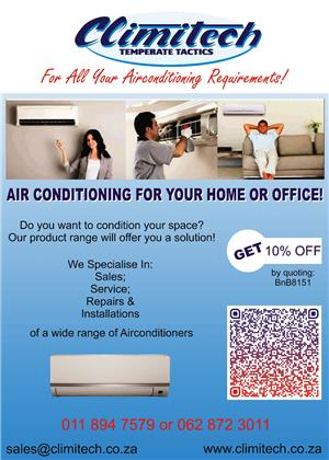 we supply,install and do repairs on all domestic air-conditioners