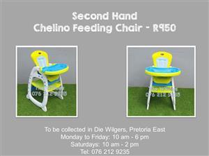 Second Hand Chelino Feeding Chair