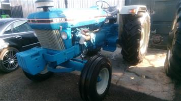 Blue Ford 6610 82Hp / 61Kw 4X2 Pre-Owned Tractor