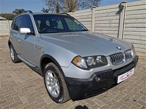 2006 BMW X3 xDrive30d auto