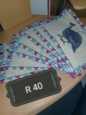 Guinea fowl napkins for sale