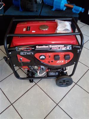 Magnum Petrol 6.5kva Generator  electric start