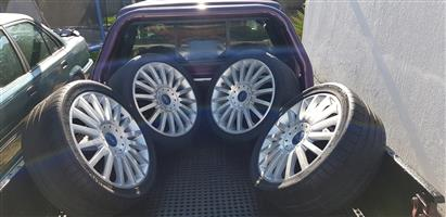 18 Ford Mondeo ST OEM Mags with Tyres
