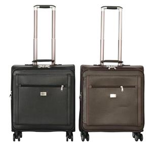 Faux Leather Laptop Cabin Trolley Briefcase Bag