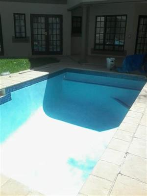 Swimming pool and lapa