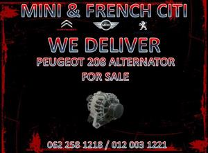 PEUGEOT 208 ALTERNATOR FOR SALE @Mini & French Citi We deliver Nationwide