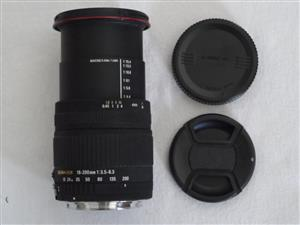 Sigma 18-200mm f/3.5-6.3 Lens for Canon EOS Digital SLR Camera, used for sale  Centurion