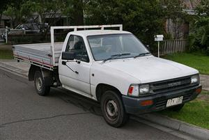 1995 Toyota Hilux single cab HILUX 2.4 GD P/U S/C