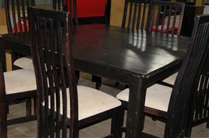 9 piece dining room suite S032689A #Rosettenvillepawnshop