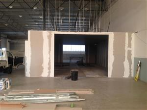 Ceilings, Drywall & Partitioning Services
