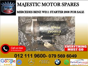 Mercedes benz W211 starter for sale