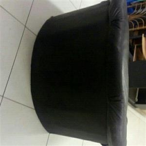Black One Seater Cough