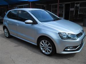 2015 VW Polo 1.2TSI Highline auto