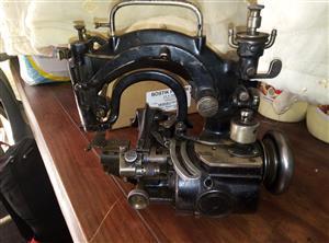 willcox & gibbs sewing machine from 1873 chain sticth machine