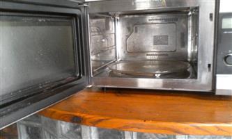 Lg 30 lttr grill microwave