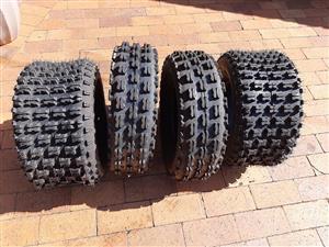 Brand New Quad Tyres